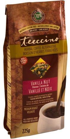 Teeccino Caffeine-Free Medium Roast Herbal Coffee - Vanilla Nut Flavour $10.29 - from Well.ca