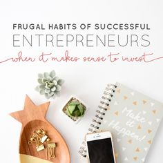 Frugal Habits of Suc