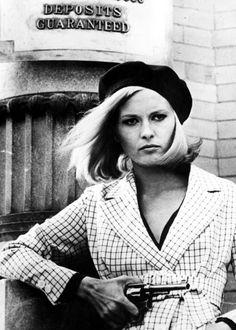 Faye Dunaway in Bonnie  Clyde (1967)