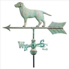 Labrador Retriever weathervane
