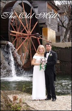 Get Married at the Historic Old Mill. #wedding #Gatlinburg #Smoky #Mountains #Pigeon #Forge