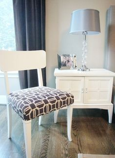 Cabinet and Chair Makeover