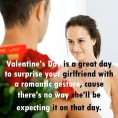 Surprise! I bet you didn't expect flowers! Valentine's Day Sayings. #valentines #sayings