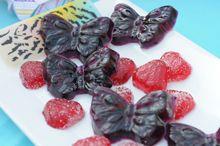 Bombones de frutas sobre platos pintados en porcelana https://www.youtube.com/user/ManosalaObraTV?sub_confirmation=1