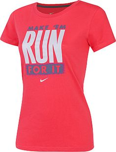 Nike Women's Run For It Graphic T-Shirt - Dick's Sporting Goods More