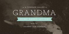 Grandma™ - Webfont & Desktop font « MyFonts