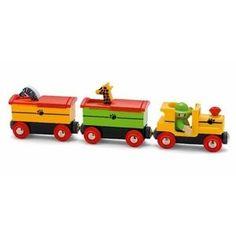 Brio 33255 Safari Train with Popup Wagons