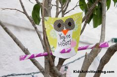 Super easy owl valentines   I LOVE this, and could always switch the pixi stick for a pencil instead.