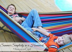 Summer Simplicity in a Hammock with the help of #AmazonCart, an amazing way to add things to your cart via Twitter! So ready to relax in the hammock and listen to the summertime bugs chirp and chatter. #shop #cbias #backyard #hammock #relax