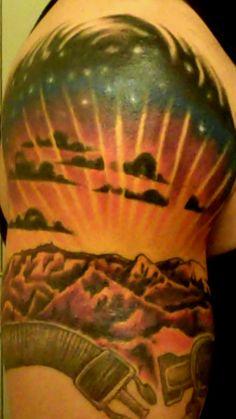 Mountains Tattoo ]