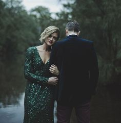wedding dressses, green sequin dress, wedding shoes, emerald sequin dress, green dress, gown, reception dresses, green weddings, alex o'loughlin