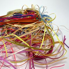 How to organize messy quilling strips