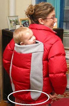 Love It Live It Laugh It Up: Babywearing Coat Alteration Instructions