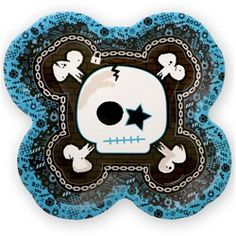 These Rock Star plates will be rockin at your rock star baby shower party.  They coordinate well with browns and blues.  http://www.modern-baby-shower-ideas.com/rock-star-baby-shower.html  Use coupon code: Modern11 and save 11%