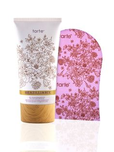 Brazilliance™ skin rejuvenating maracuja face and body self tanner with mitt