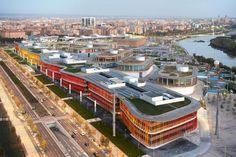 Estudio Lamela, Ronda, Zaragoza international expo, Spain