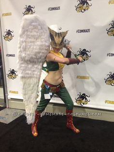 Realistic and Fun Hawkgirl Costume – Made With No Special Tools!… Coolest Halloween Costume Contest