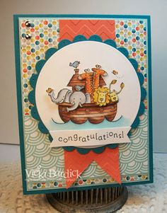 Stampin' Up! Baby Card by Its a Stamp Thing