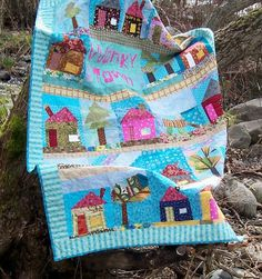 Wonky Town Quilt