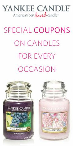 #YankeeCandle #Coupons! Buy 2, Get 2! #savings #save #deal #promotion #candle