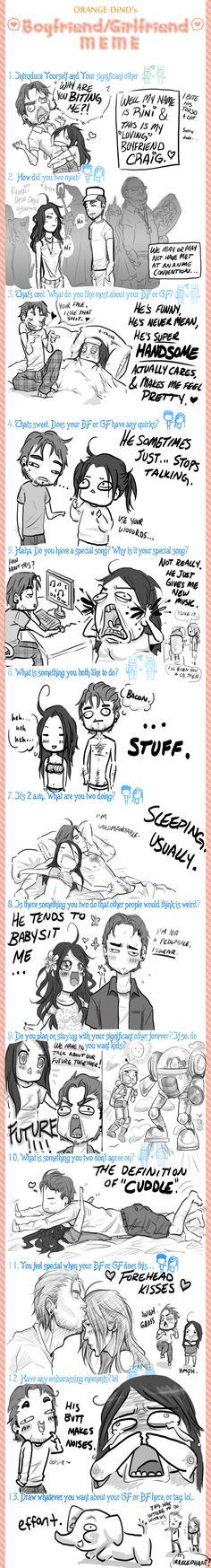 Boyfriend Girlfriend Meme (BETTER) by ~Samoubica on deviantART