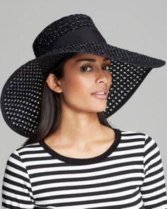 kate spade new york Crochet Sun Hat with Bow  Bloomingdale's