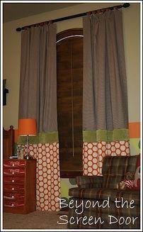 curtain idea for tall windows, custom curtain, curtain styles