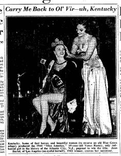 Venus Ramey, Miss America 1944