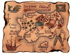 Treasure Island Map