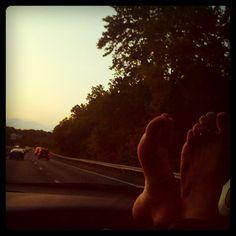 Road trip.