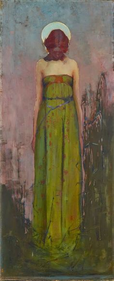 Standing in the quietness of self ► Sydney Long ~ Art Nouveau and Symbolist painter
