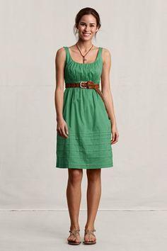 green dress + belt