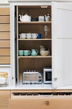 conceal kitchen, kitchen storage, kitchen decor, contemporary kitchens, cambridg kitchen