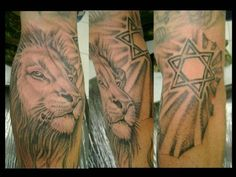 Tatuagem Masculina - Leão