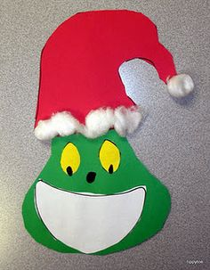 Grinch pattern - How to Make a Grinch smile writing