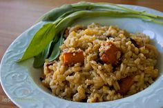 Who needs a turkey when you can have butternut squash and sage risotto??