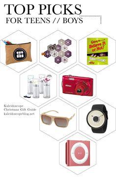 Christmas Gift Guide 2013 // Top Picks for Teen Boys - Christmas Gift Ideas for Teen Boys from Kaleidoscope Blog, Australia