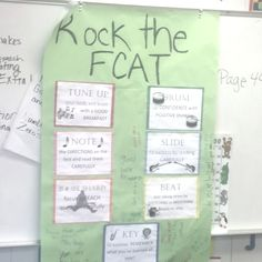 For our FCAT buddy class!