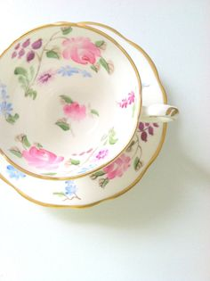 Vintage Foley English Fine Bone China Tea Cup