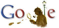 Doodle dedicado por Google al personaje más famoso de Sir Arthur Conan Doyle