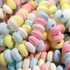 #Pastel candy necklace