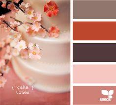 Cake tones