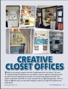 Get Organized Magazine Feature | Organize 365