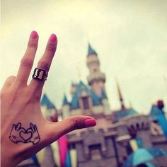 Another disney tattoo  I'm not a fan of hand tattoos at all but If i got one, I would love this.