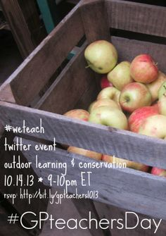 #GPteachersDay twitter event 10.14.13 - we teach