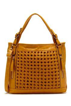 Very pretty pattern. Woven Handbag