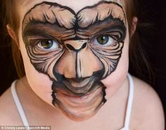 costum, idea, face paintings, makeup, art, facepaint, paints, kid, halloween