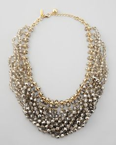 Capital L ove city sparkler collar necklace by kate spade at Neiman Marcus.
