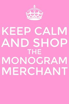 Visit us at themonogrammerchant.com! For the best selection of personalized gifts!