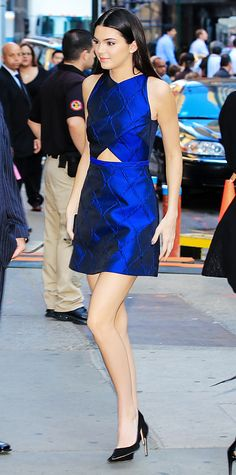 Kendall Jenner in Camilla and Marc dress
